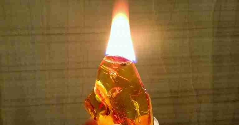 Come capire se è l'ambra vera?