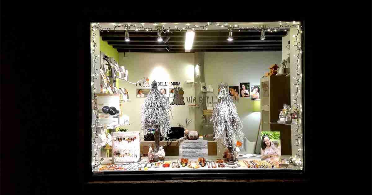 negozio La Via Dell'ambra