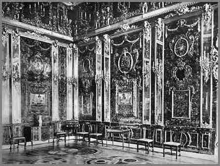 la foto della camera d'ambra originale